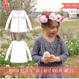 Gilet Camille 2/12ans